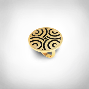 Bernadotte Jewellery Art Deco Labyrinth gyűrű