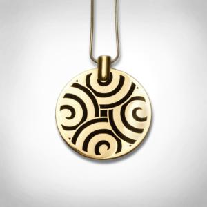 Bernadotte Jewellery Art Deco Labyrinth nyaklánc