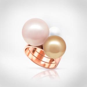 Bernadotte Jewellery Universe City Glam gyűrű rosegold