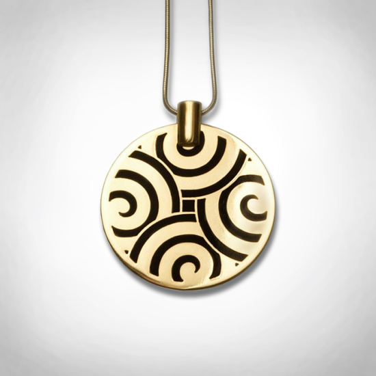 Bernadotte Jewellery Art Deco Labyrinth nyaklánc