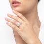 Kép 2/5 - Bernadotte Jewellery Candy gyűrű Azúr