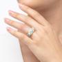 Kép 3/5 - Bernadotte Jewellery Candy gyűrű Azúr