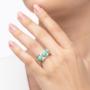 Kép 3/5 - Bernadotte Jewellery Candy gyűrű Jade