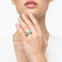 Kép 4/5 - Bernadotte Jewellery Candy gyűrű Jade