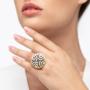 Kép 2/5 - Bernadotte Jewellery Art Deco Labyrinth gyűrű