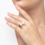 Kép 5/6 - Bernadotte Jewellery Universe Iris gyűrű rosegold