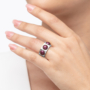 Kép 3/5 - Bernadotte Jewellery Candy gyűrű Blackberry
