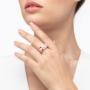 Kép 2/5 - Bernadotte Jewellery Candy gyűrű Korall