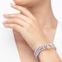 Kép 3/4 - bernadotte-jewellery-glamour-levendula-gyöngy-karkötő-kristály