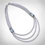 Kép 1/4 - bernadotte-jewellery-gyöngy-nyaklánc-glamour-levander