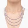 Kép 4/4 - bernadotte-jewellery-glamour-gyöngy-nyaklánc-levendula-glamour