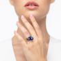 Kép 5/5 - Bernadotte Jewellery Universe Irid Dark Blue gyűrű arany