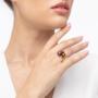 Kép 3/5 - Bernadotte Jewellery Universe Velvet Brown gyűrű arany