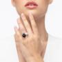 Kép 4/4 - Bernadotte Jewellery Universe Mythos gyűrű ezüst