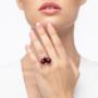 Kép 4/4 - Bernadotte Jewellery Universe Burgundy gyűrű rosegold