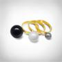 Kép 2/5 - Bernadotte Jewellery Universe Mythos gyűrű arany