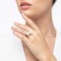 Kép 3/7 - Bernadotte Jewellery Universe Iris gyűrű arany